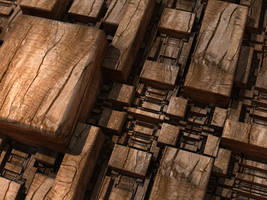 Wooden Chaos by LukasFractalizator