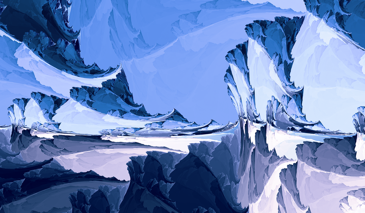 Glacier Mountains by LukasFractalizator