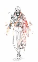 Ezio Auditore da Firenze by Aka-no-Freak