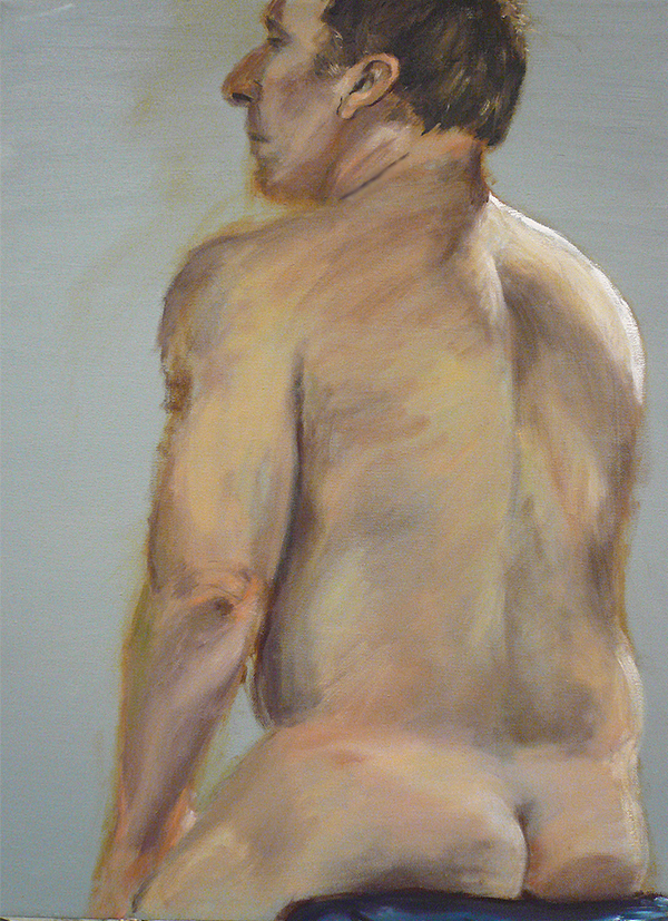 Male Nude by therainechild