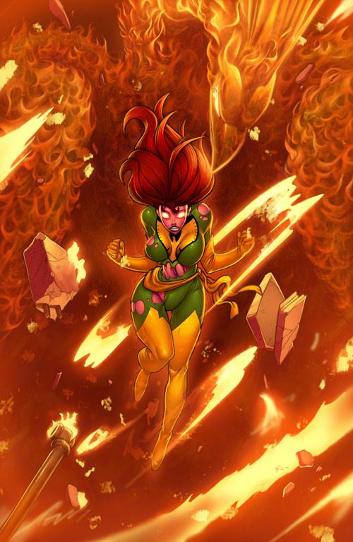Phoenix Commission by danimation2001