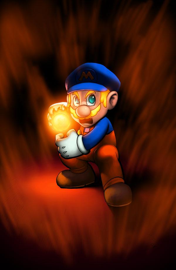 Super Sayian Mario