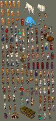 NPC character sheet by danimation2001