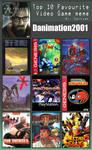 Danimation's top 10 favorite videogames