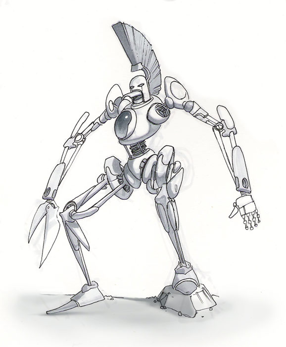 Cybernetic Ghost Of Christmas Past From The Future.That Robot From The Future By Danimation2001 On Deviantart