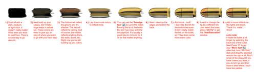 Bullet metal Tutorial #0002 Learnuary by danimation2001