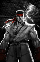 SFV RYU Digital Rendering