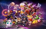Super Smash Bros Melee Poster Update