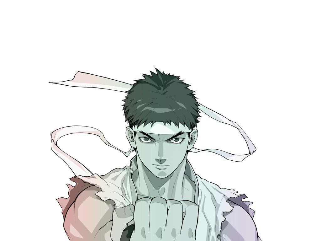 SFA zero 3 Ryu Z 1600 by 1200 by danimation2001