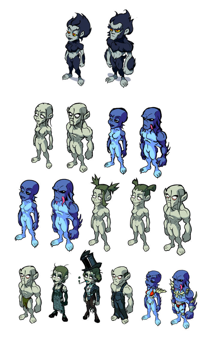 Character Design Proportions : Character proportions by danimation on deviantart