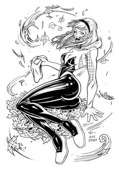 Inks #0033 Gwen Stacy