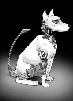 Robot Dog old forgotten piece