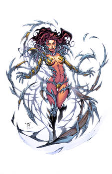 Witchblade inks by Randy Green Colors by me