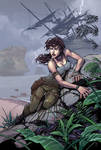 TombRaider by RandyGreen colors by Danimation2001
