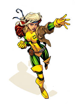 Rogue by RandyGreen Colors by Danimation2001