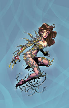 Witchblade by Randy G colors by Danimation2001