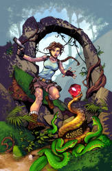 Tomb-Raider by RandyGreen Colors by Danimation2001 by danimation2001