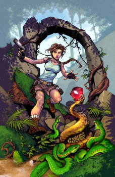 Tomb-Raider by RandyGreen Colors by Danimation2001