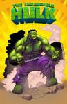 Hulk By Punchyninja 2nd color by Danimation2001