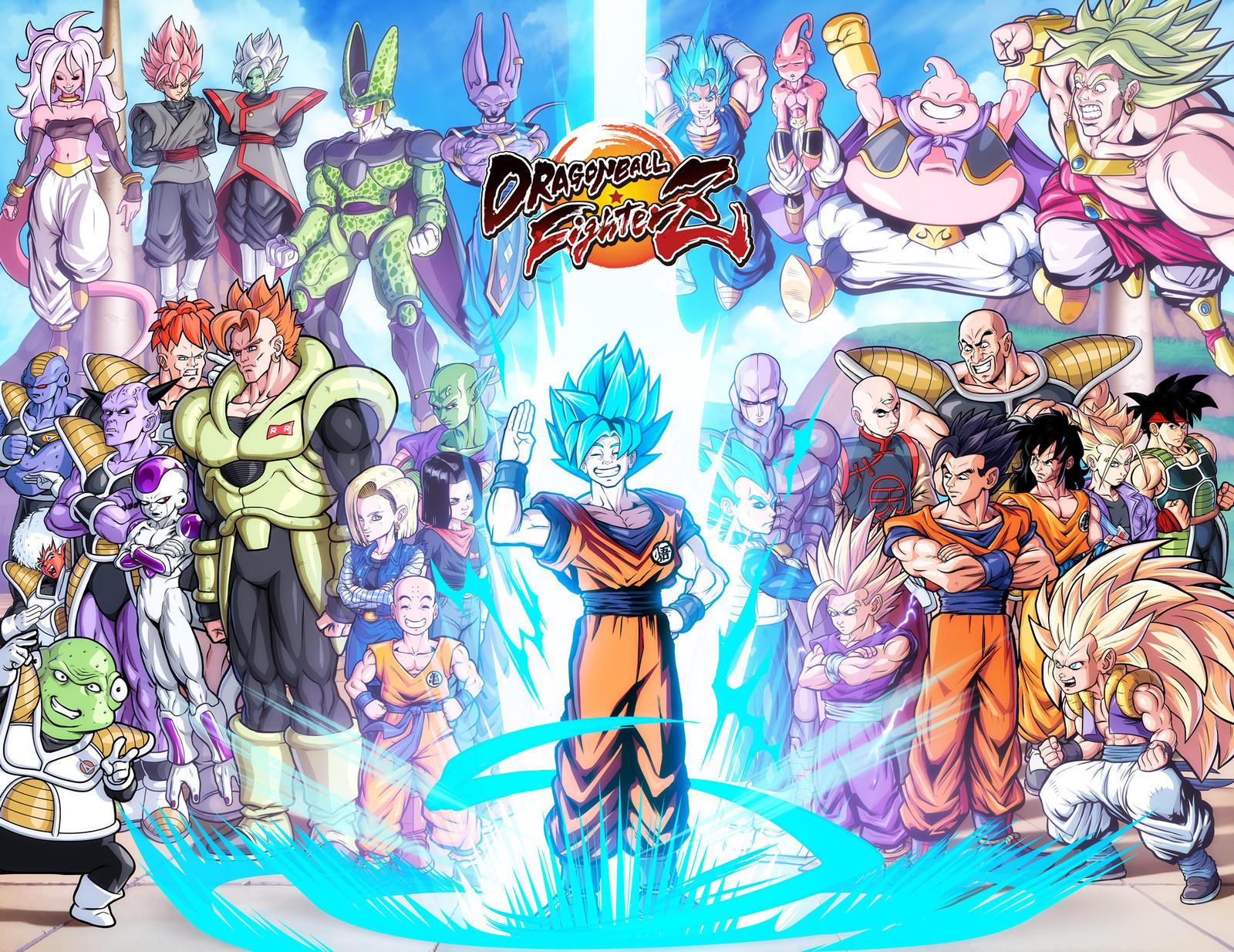 Dragonball fighter Z by danimation2001