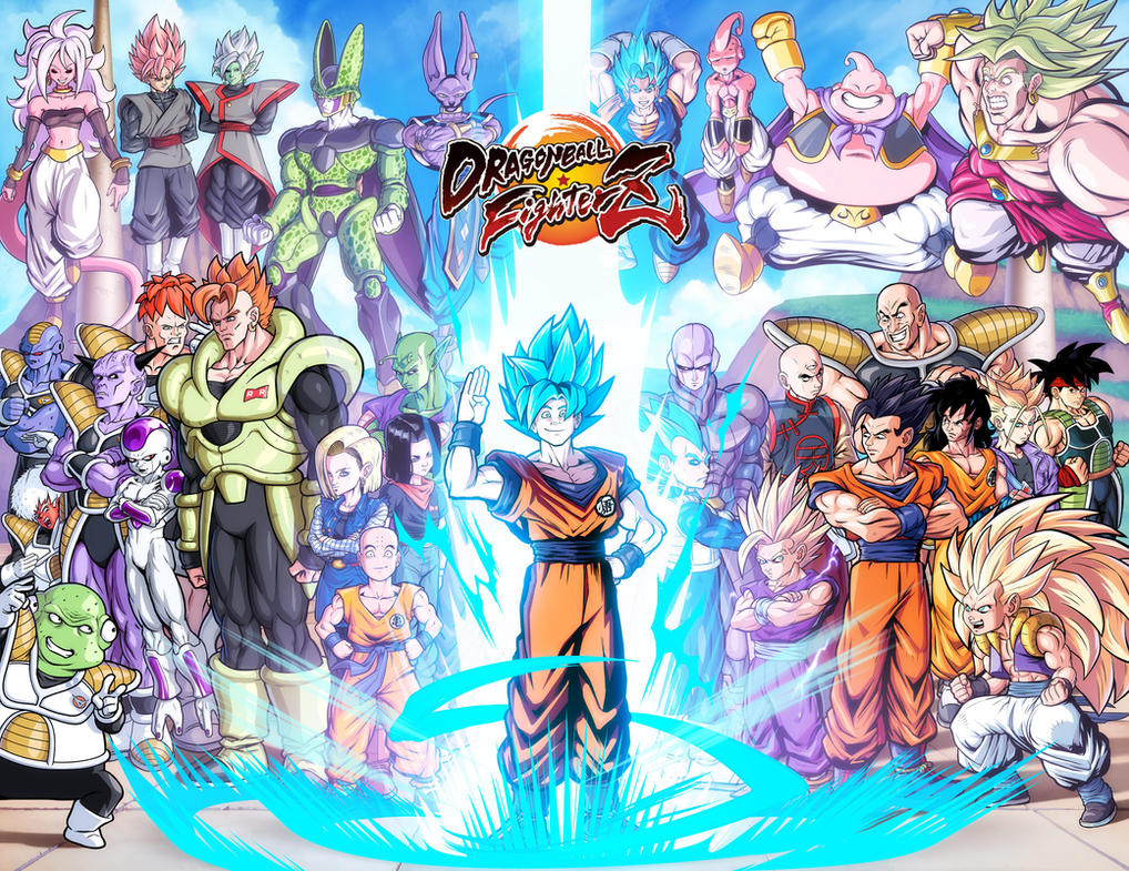 Dragonball fighter Z LoL faces or no lol faces by danimation2001