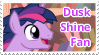 Dusk Shine Fan Stamp by NavelColt