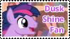 Dusk Shine Fan Stamp by NavelColt