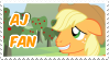 AJ Fan Stamp by NavelColt