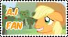 AJ Fan Stamp by NavelColt