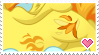 I Love Ponies with Belly Buttons! -Spitfire- Stamp by NavelColt