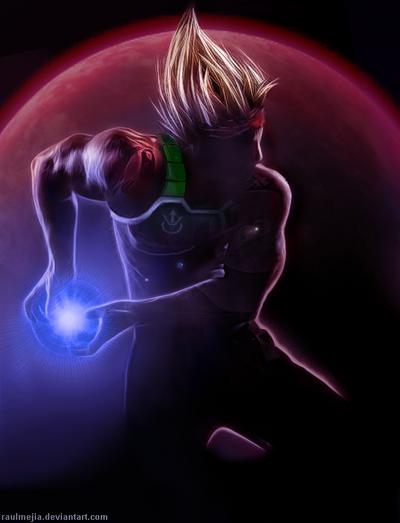 Bardock Super Saiyan by raulmejia