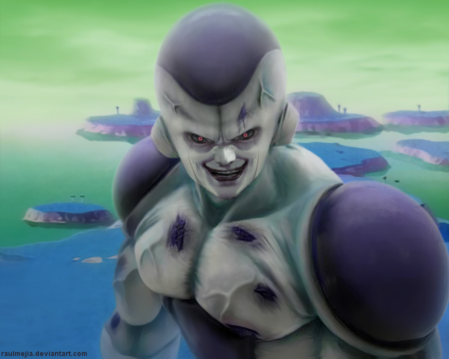 Frieza in real life by raulmejia