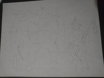 Goofy Character Sketch