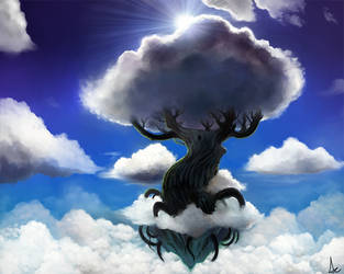 Tree of Clouds III by VariaZim