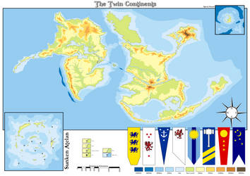 The Twin Continents