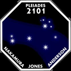 Pleiades 2101 Mission Logo
