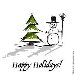 Happy Holidays by nilsjeppe