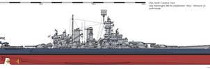 USS Washington BB-56 (September 1942) - Measure 22 by ColosseumSB