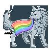 F2U: Pride Canine Pixel Base by jako-ry