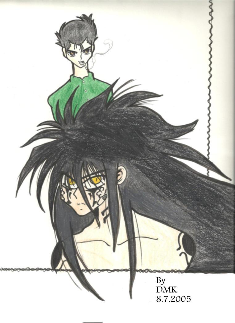 Yusuke urameshi by mindofpain on deviantart for Yusuke demon