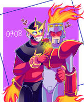 Elecman x Fireman by MVico