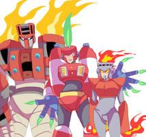 fire bots by MVico
