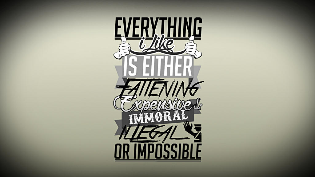 fallout typographic wallpaper by - photo #39