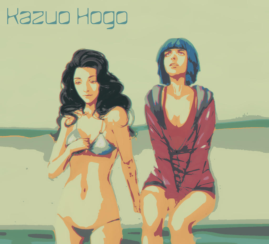 Fem \\ Yukayo and Kazuhiko by Emtibiel