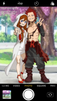 [BNHA YCH] Kirishima and Tzuyu Zhou