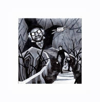 Cabinet of Dr. Caligari by H-Magoria