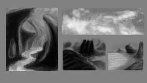 Landscapes sketches
