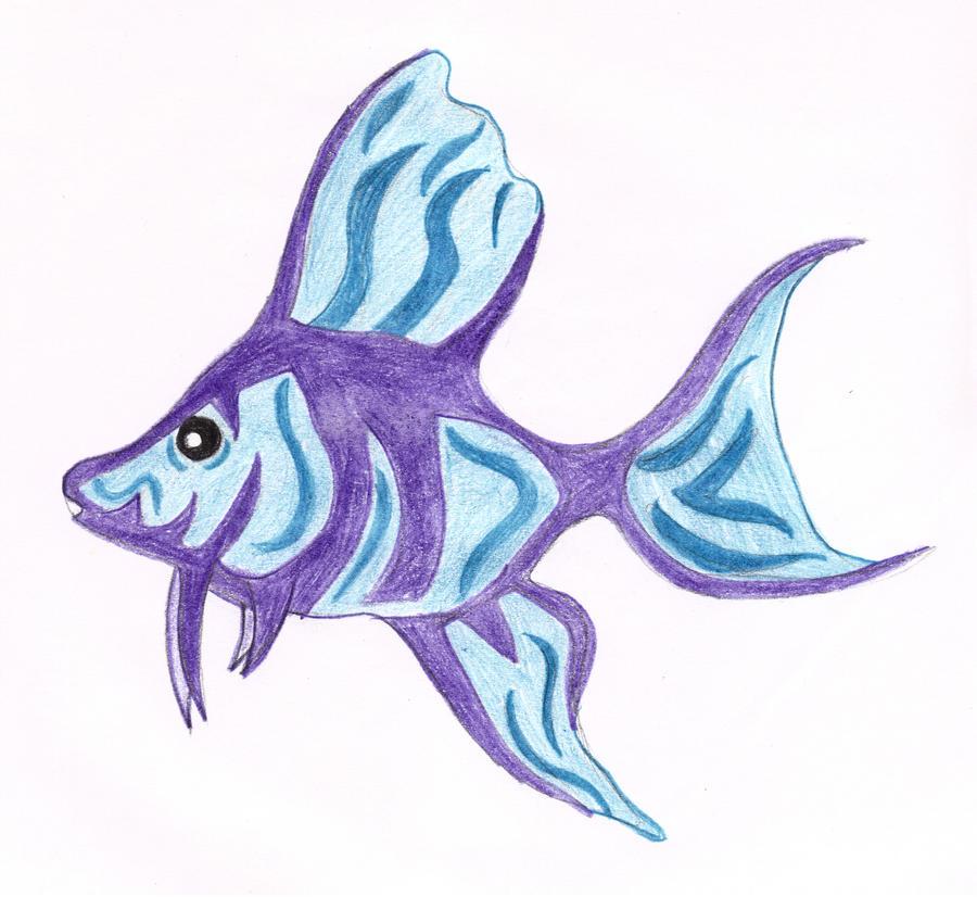 Angel fish drawings - photo#10