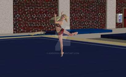 Chelsey on the floor  4