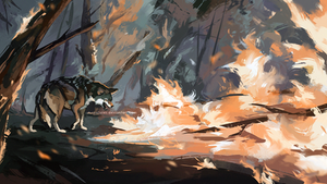 On Flame's Borders | Commission